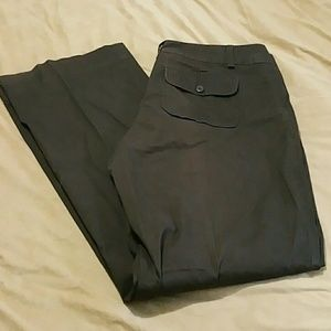 Gap stretch long boot cut pants